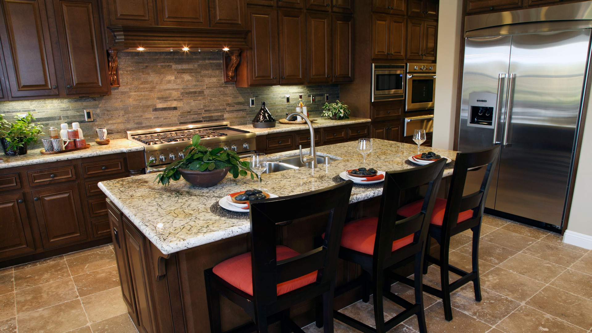 Ship Beautiful Aesthetics in Your Kitchen With Granite Worktop